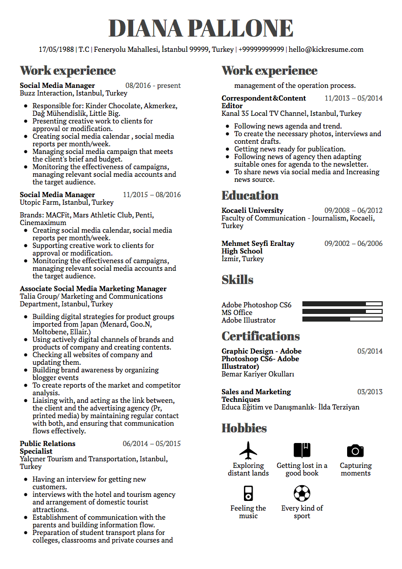 Examples Of Good Resumes 10 Real Marketing Resume Examples That Got People Hired At Nike