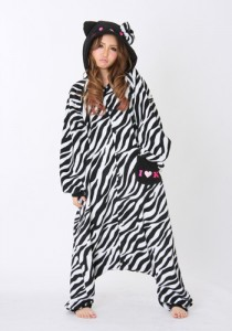 Hello Kitty Zebra - Black
