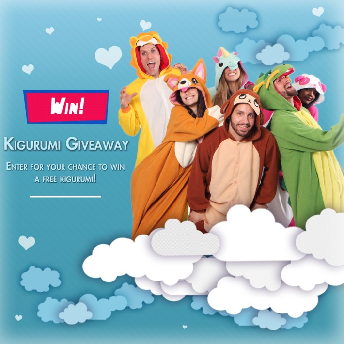 Kigurumi Animal Onesie Giveaway