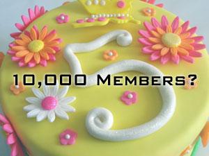 10,000 Members By 5 Years?