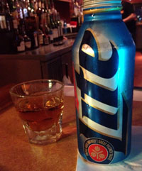 Jack Daniels & Miller Lite