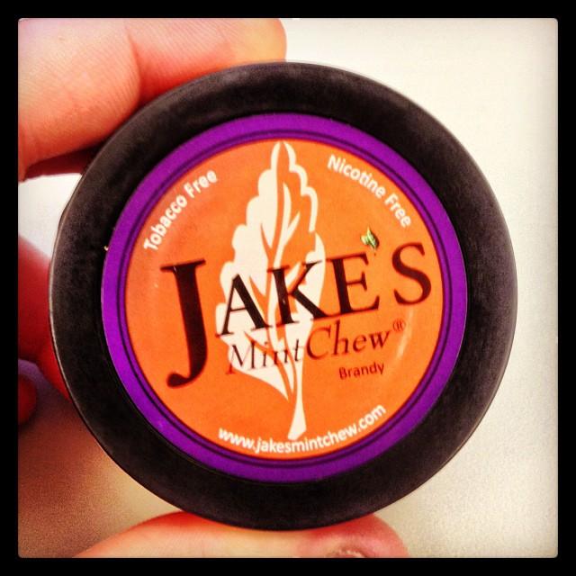 Jake's Mint Chew Brandy
