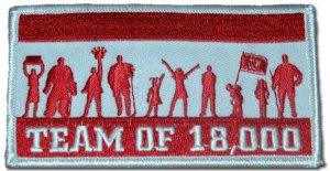 Team Of 18,000