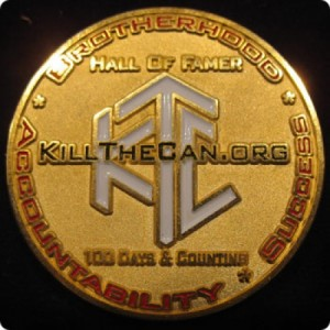 Gold HOF Coin