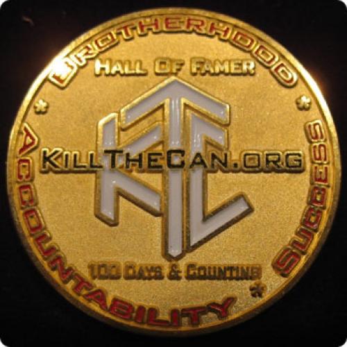 Gold HOF Coin