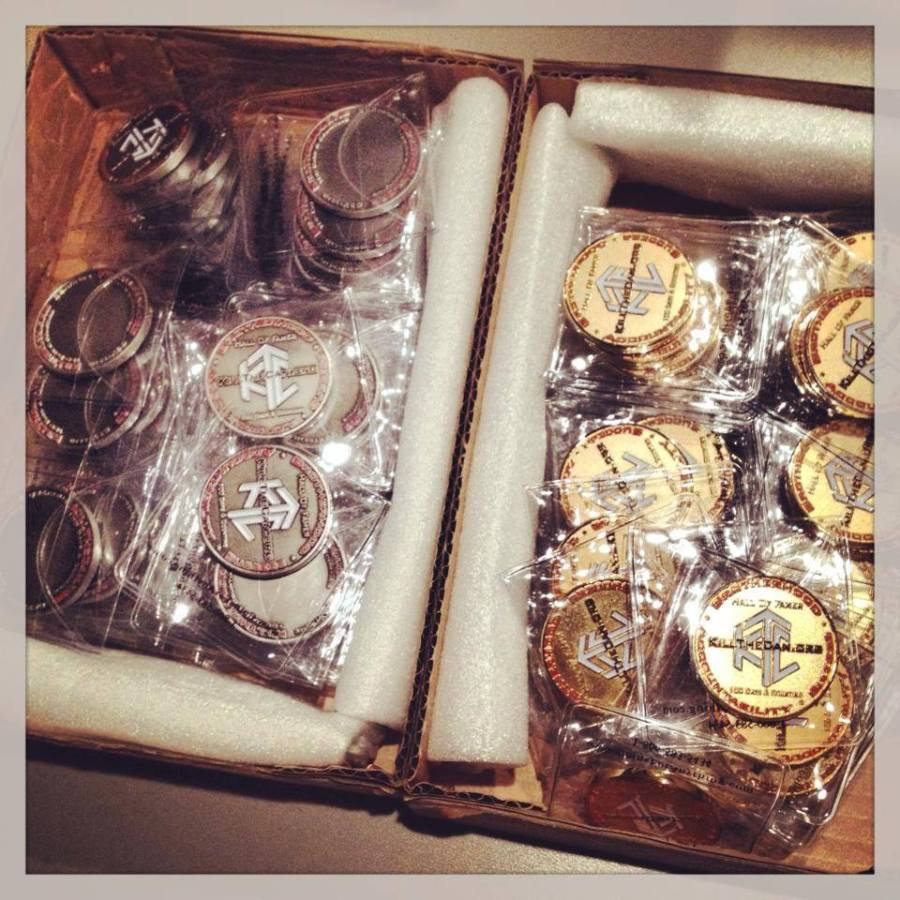 New HOF Coins Arrive