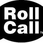 Roll Call For Thursday August 20th, 2015