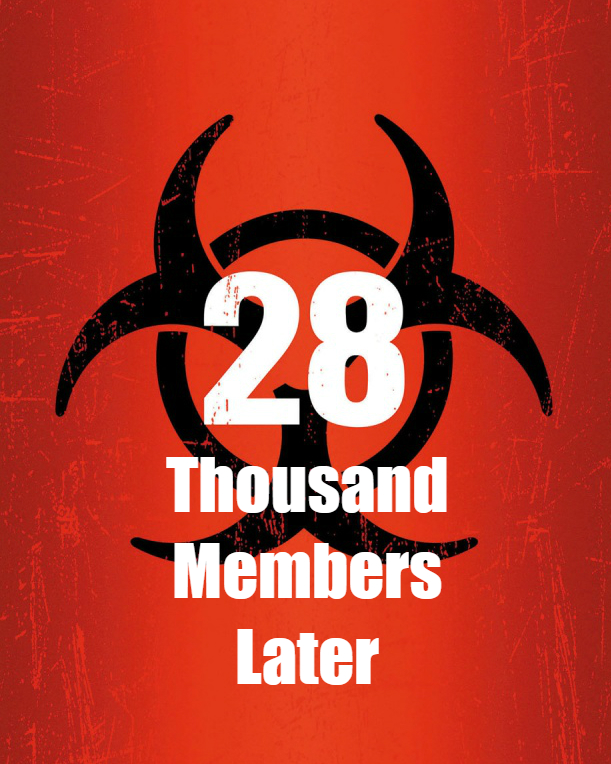 28000 Members