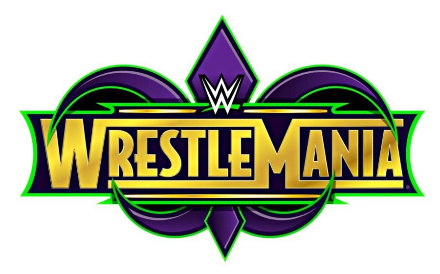 WrestleMania 34 Logo 2018