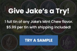 Try Jake's Mint Chew