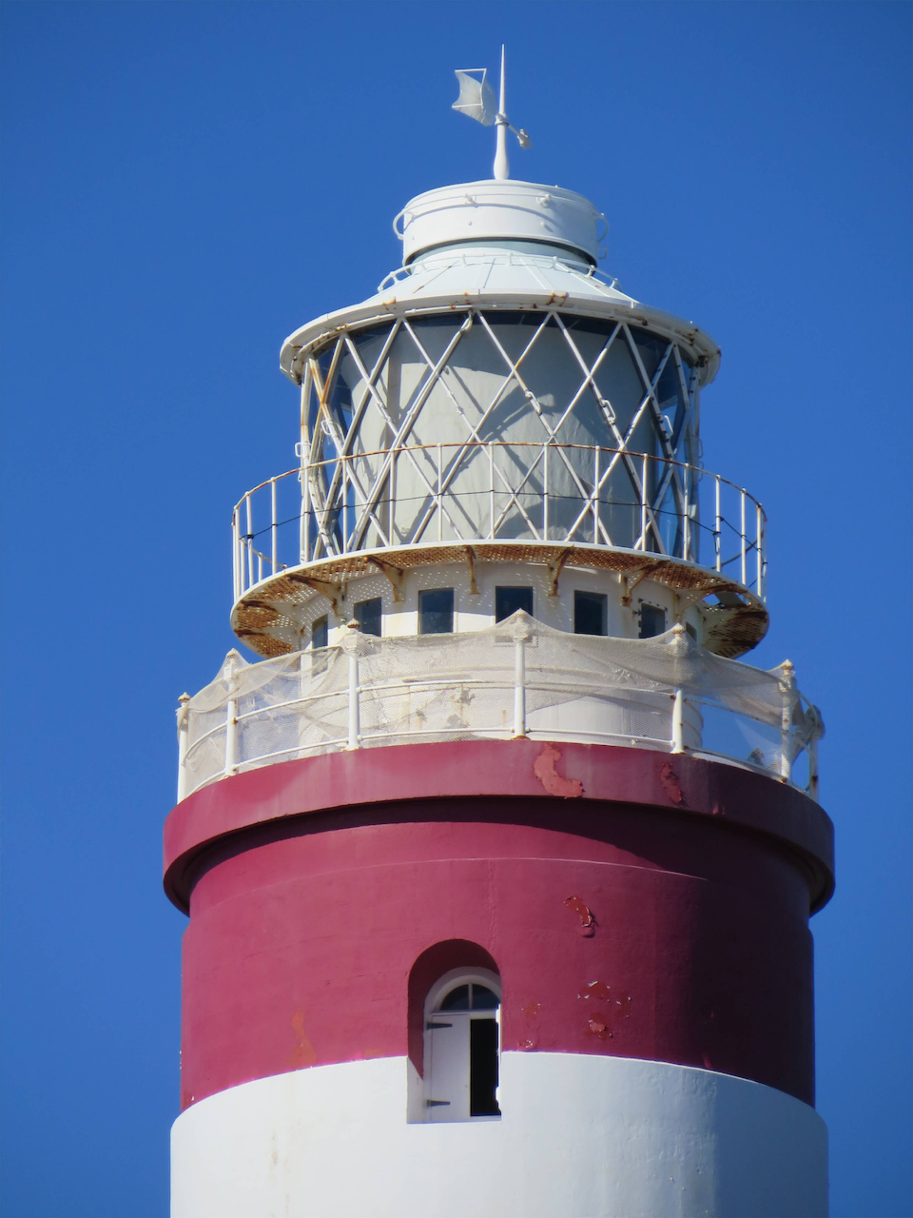 """Elbow Reef Lighthouse  """"the Candy Striped Lighthouse"""