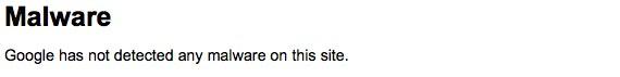 google webmaster tools malware