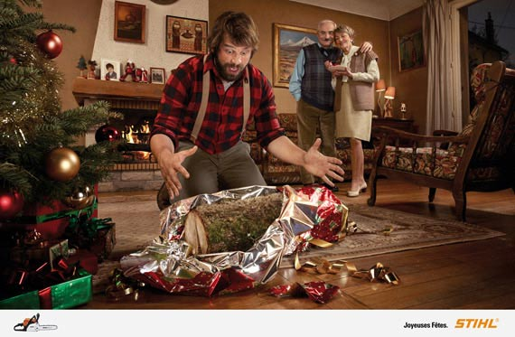advertising print ad story