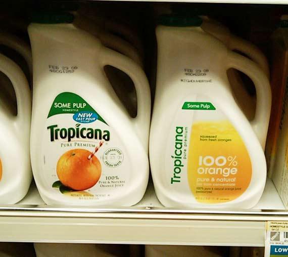 tropicana repackaging disaster