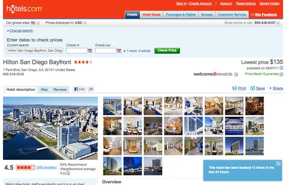 hotels.com example
