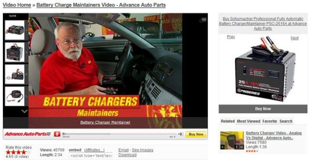 advanced auto parts conversion video