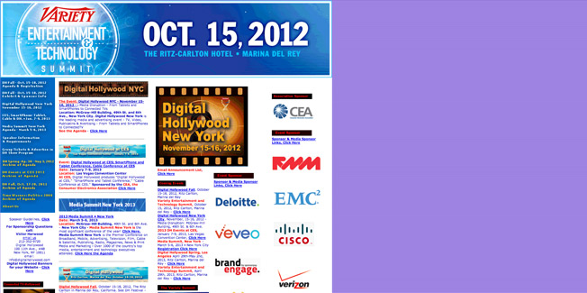 DigitalHollyWood Home Page
