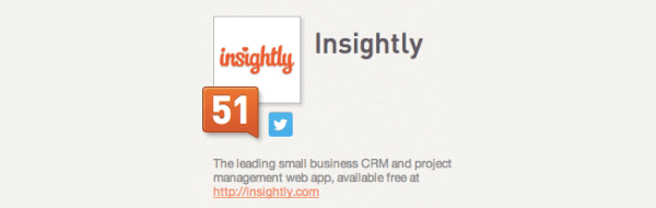 twitter bio live link on klout