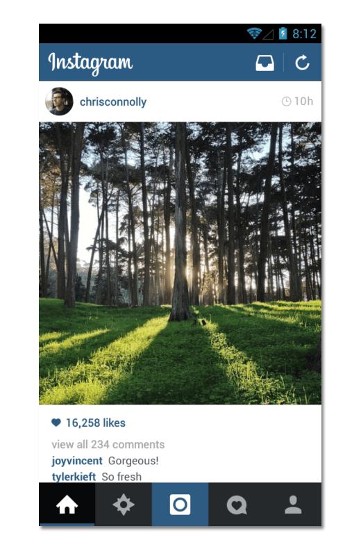 Instagram Feed Mobile
