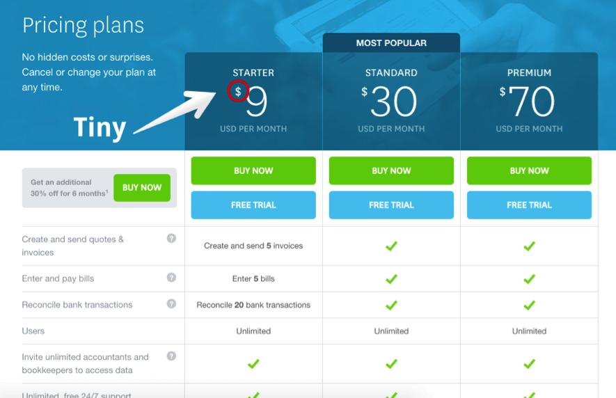 pricing-plans-xero
