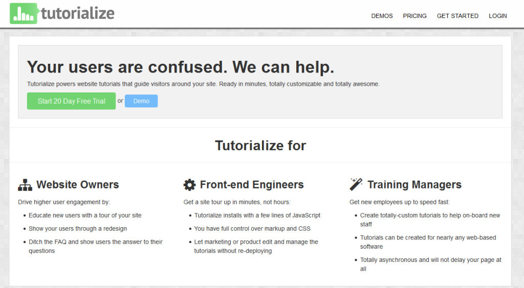 tutorialize