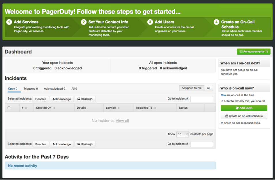 pagerduty-old-onboarding-flow
