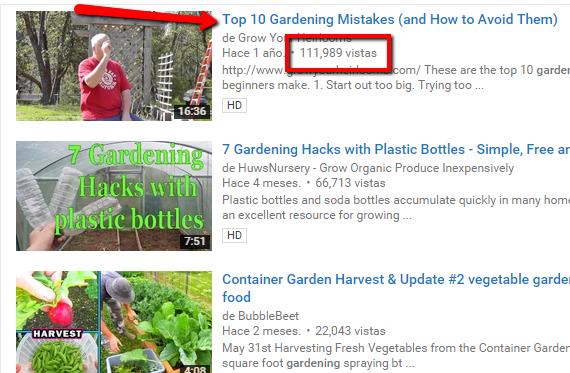 Cercare video su Youtube