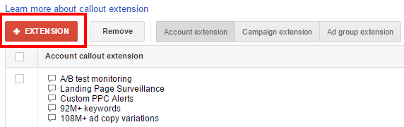 adwords-extension