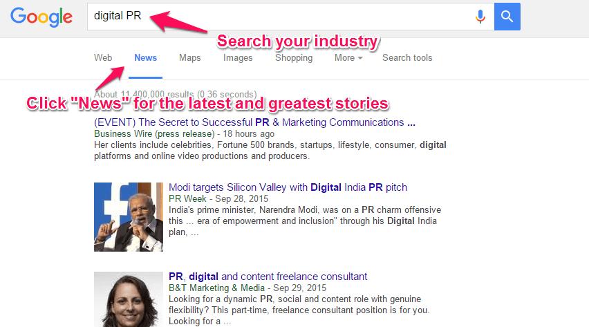 Google-News-digital-pr-search
