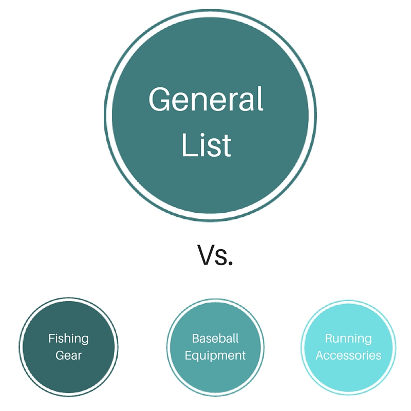 general-email-list-versus