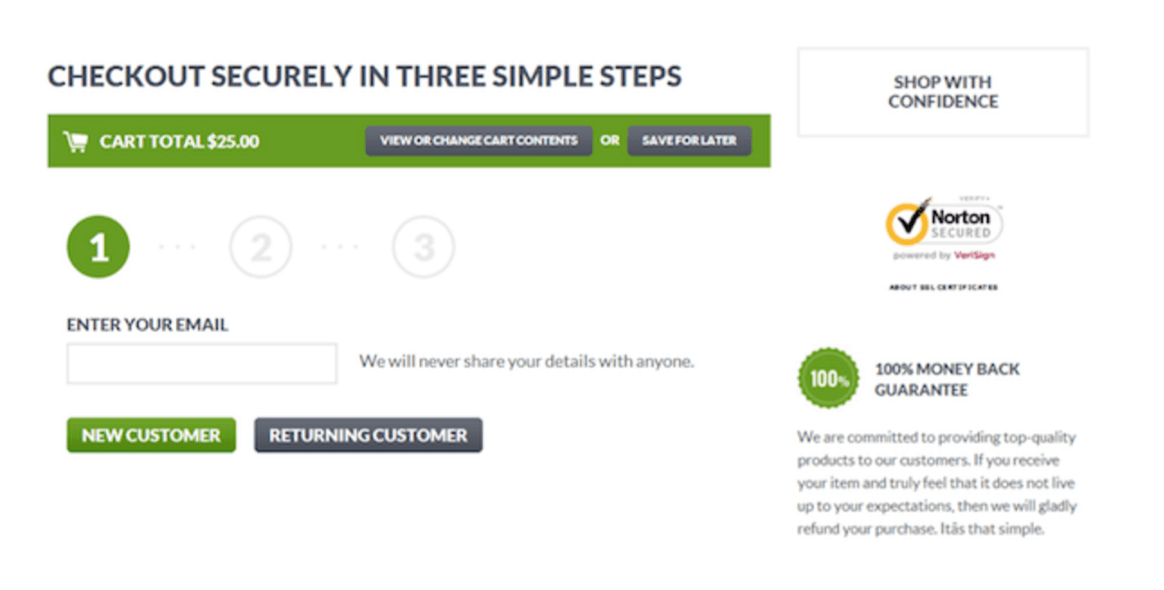 checkout-securely-3-steps