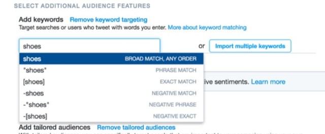 keyword-matching-twitter-ads