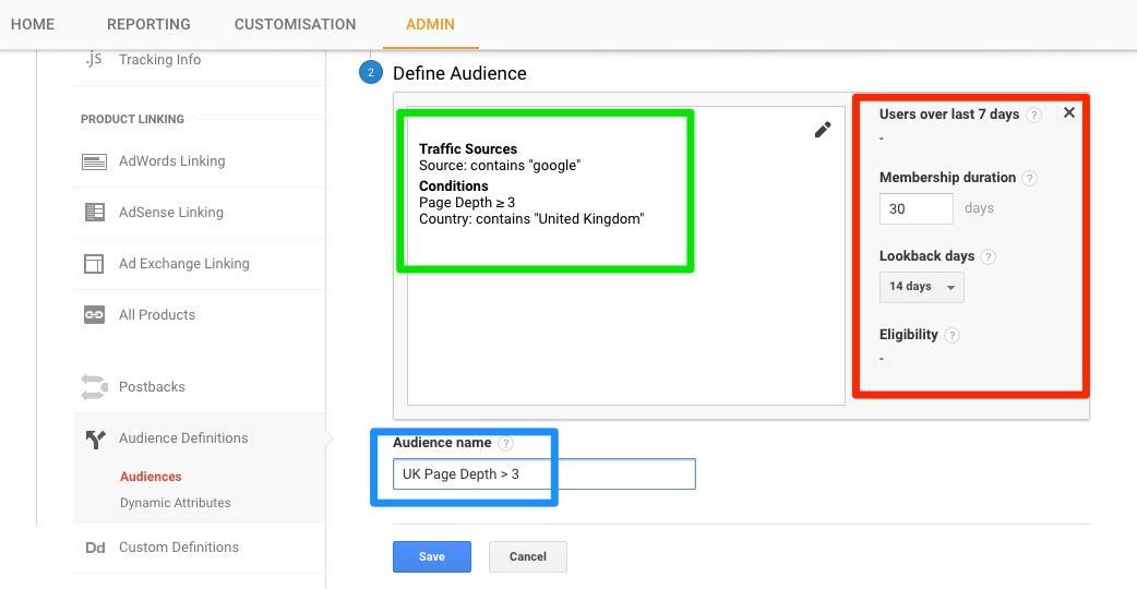 google-analytics-define-audience