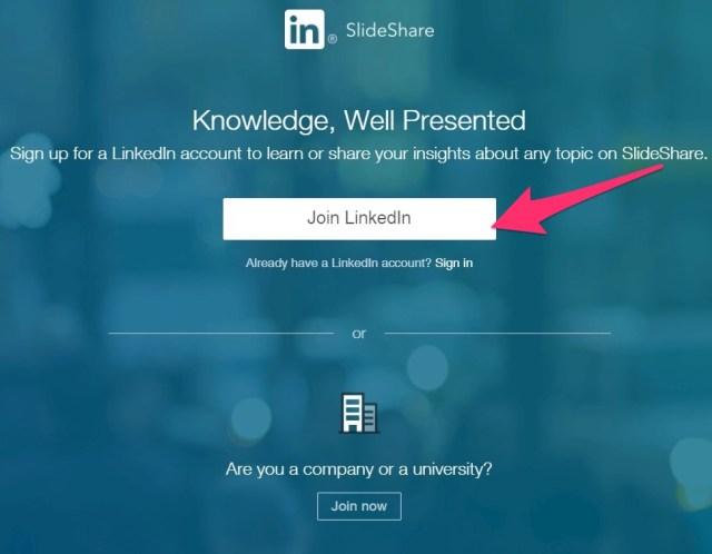 knowledge well presented linkedin slideshare