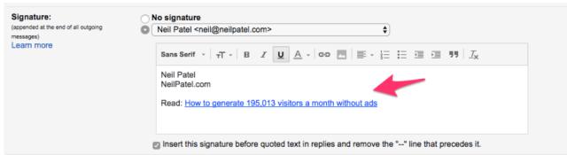 neil patel email signature