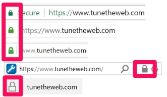 SSL padlocks in chrome