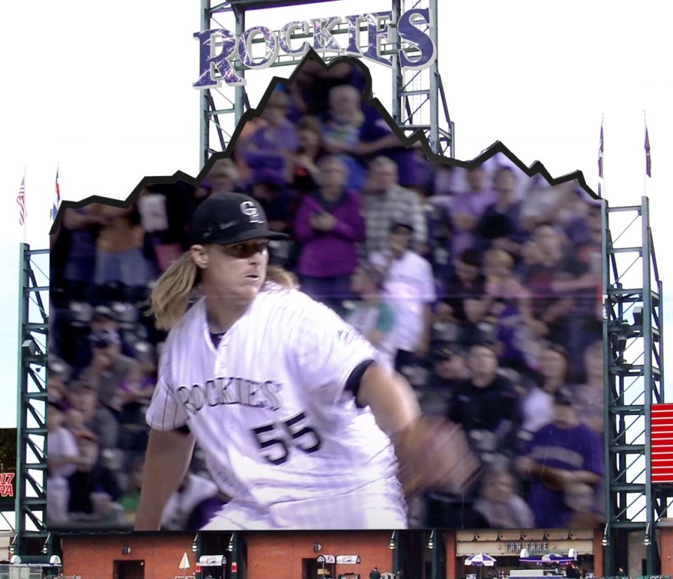 The Rockies' new LED scoreboard - Kitcast Blog
