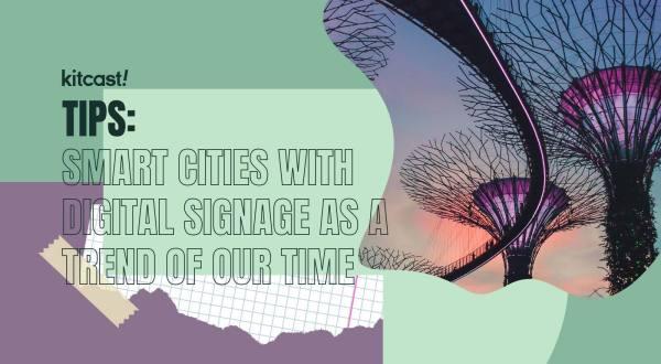 smart city digital signage
