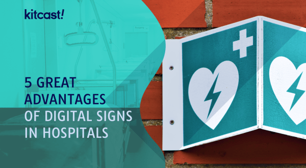 digital signs in hospitals