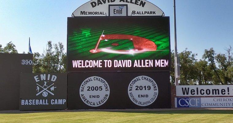 digital signage sport campaigns  David Allen Memorial Ballpark