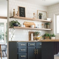 Kitchen Open Shelves Pink Rug How To Upgrade Your With Shelving Innovative In Pantry