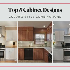 Best Kitchen Cabinets Grohe Faucet Cartridge Replacement 5 Most Popular Cabinet Designs Color Style Combinations