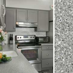 Grey Kitchen Countertops Reclaimed Wood Table How To Pair With Gray Cabinets