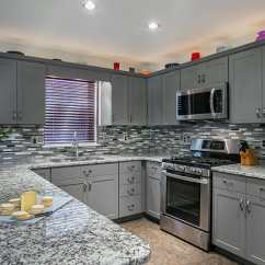 Grey Kitchen Countertops Cabinet Materials How To Pair With Gray Cabinets Best Countertop For