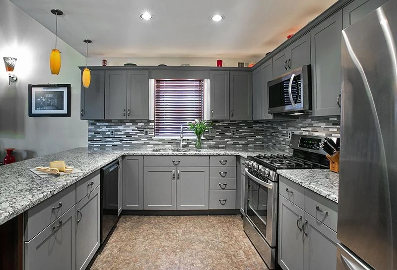 Throwing Shade On The Gray Kitchen Design In A Good Way