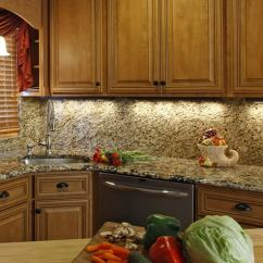 Kitchen Task Lighting Stainless Steel Trash Can Concepts That Take On A New Hue Craftsman With Under Cabinet
