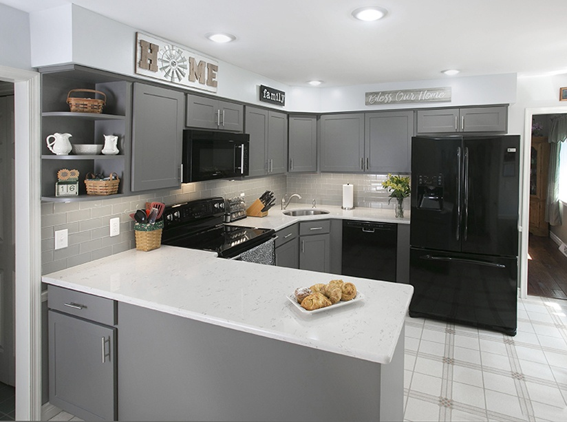 most popular kitchen cabinets commercial tile 5 cabinet designs color style combinations gray shaker
