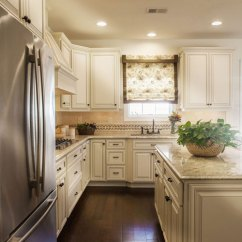 Antique White Kitchen Cabinets Settee For Our Top 5 Cabinet Countertop Pairings Pairing With An Existing Granite Slab