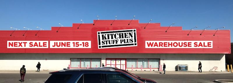 kitchen stuff on sale tile flooring plus announces new brampton warehouse
