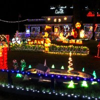 The Poulos Outer Banks Christmas House Returns